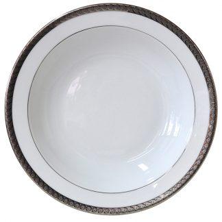 Bernardaud Torsade Deep Round Dish