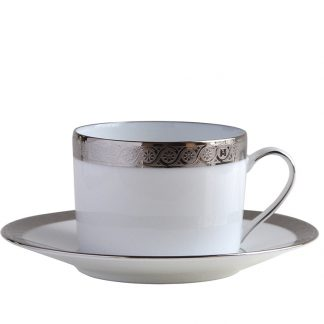 Bernardaud Torsade Tea Cup And Saucer