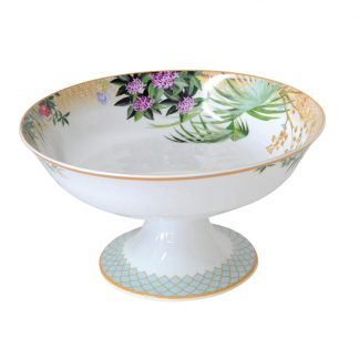 Bernardaud Tropiques Footed Coupe