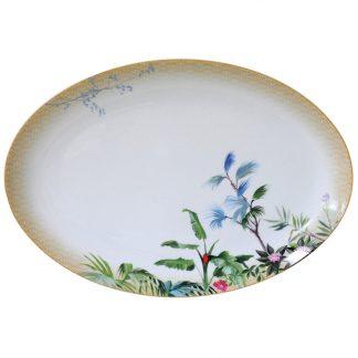 Bernardaud Tropiques Oval Platter 15in