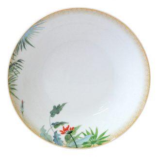 "Bernardaud Tropiques Soup Plate 7.5"""