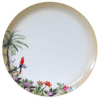 Bernardaud Tropiques Tart Platter-Round