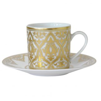 Bernardaud Venise Coffee Cup And Saucer