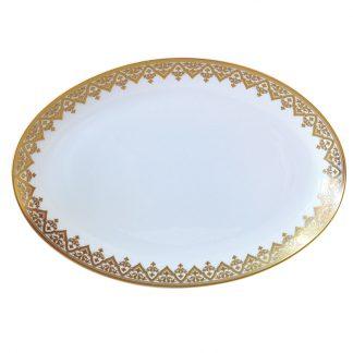 Bernardaud Venise Oval Platter 15in