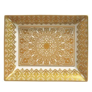 Bernardaud Venise Rectangular Dish 7.9 X 6.3in