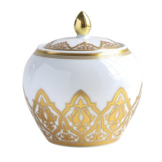 Bernardaud Venise Sugar Bowl (Boule Shape)
