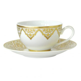 Bernardaud Venise Tea Cup & Saucer