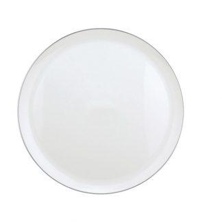 Christofle Albi Porcelain Cake Plate