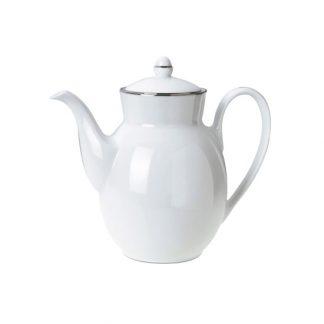 Christofle Albi Porcelain Coffeepot Or Teapot