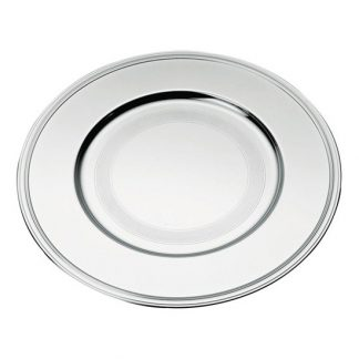 Christofle Albi Silver Plated Charger Presentation Plate