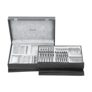 Christofle Chests 72 Piece Flatware Storage Case