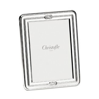 Christofle Egea Silver Plated Picture Frame 1x2