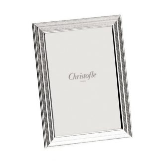 Christofle Filets Silver Plated Picture Frame 5x7