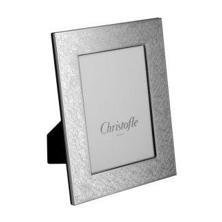 Christofle Jardin D Eden Silver Plated Picture Frame 4x6