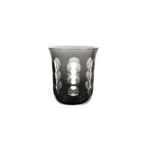 Christofle Kawali Gray Crystal Clear Water Glass