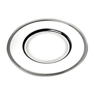 Christofle Malmaison Silver Plated Charger Presentation Plate