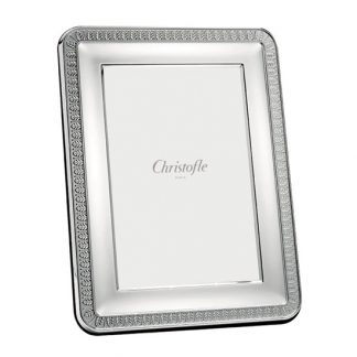 Christofle Malmaison Silver Plated Picture Frame 3x5