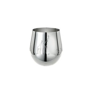 Christofle Savane Silver Plated Baby Tumbler Cup