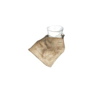 Christofle Silvercare Anti Tarnish Cloth Storage Pouch