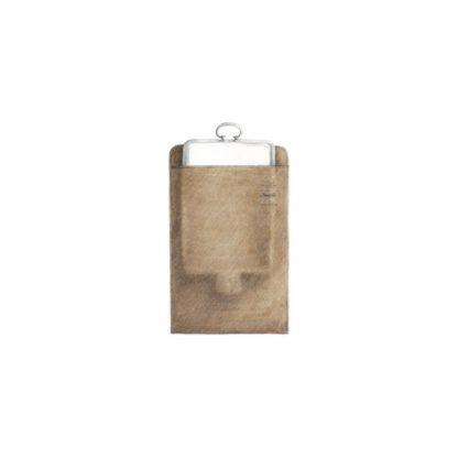 Christofle Silvercare Anti Tarnish Cloth Storage Pouch