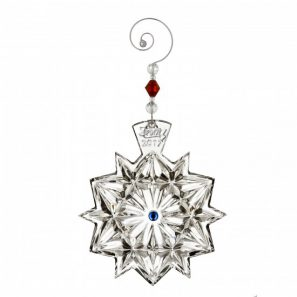 Waterford Annual Snowflake Ornament