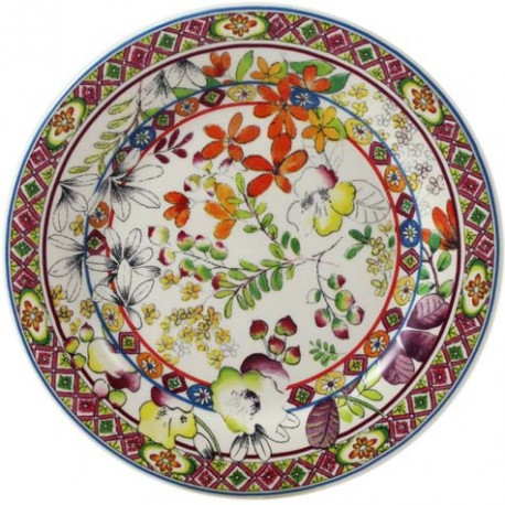 Gien bagatelle canape plate paris jewelers gifts for Canape plate size