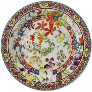 Gien Bagatelle Canape Plate