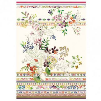 Gien Bagatelle Tea Towels Set Of 4