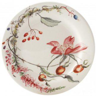 Gien Bouquet Floral Canape Plate