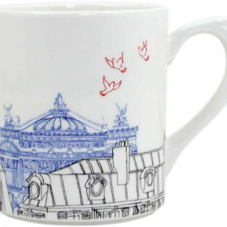 Gien Ca Cest Paris Xl Mug