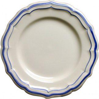 Gien Filet Bleu Canape Plate