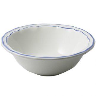 Gien Filet Bleu Cereal Bowls Xl Set Of 2