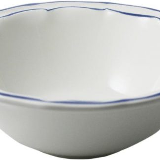 Gien Filet Bleu Indigo Cereal Bowl