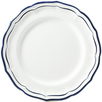 Gien Filet Bleu Indigo Dinner Plate