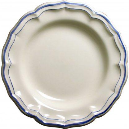 Gien Filet Bleu Round Deep Dish
