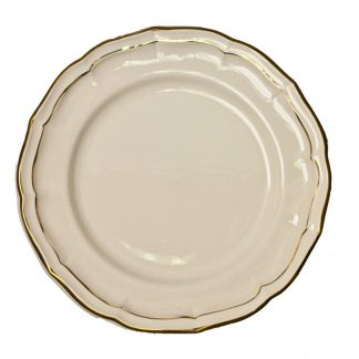Gien Filet Gold Dinner Plate