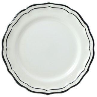 Gien Filet Midnight Round Deep Dish