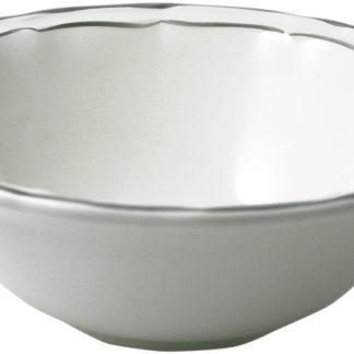 Gien Filet Taupe Cereal Bowls Xl Set Of 2