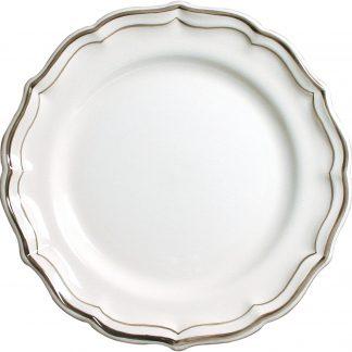 Gien Filet Taupe Dessert Plate