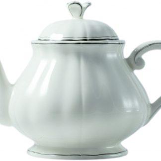 Gien Filet Taupe Teapot