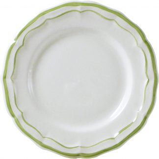 Gien Filet Vert Canape Plate