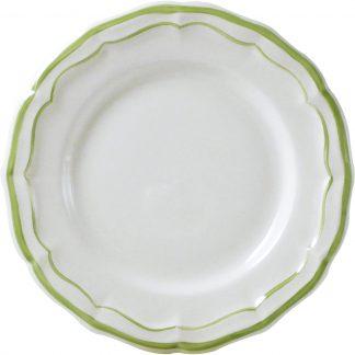 Gien Filet Vert Dinner Plate