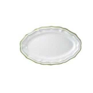 Gien Filet Vert Oval Platter
