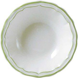 Gien Filet Vert Round Deep Dish