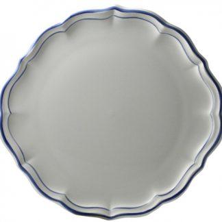 Gien Filets Bleus Cake Platter