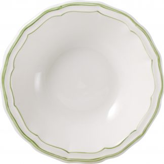 Gien Filets Verts Cereal Bowl