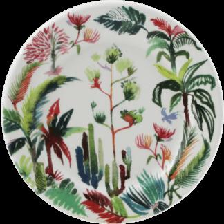 Gien Jardins Extraordinaires Coaster - Set Of 2