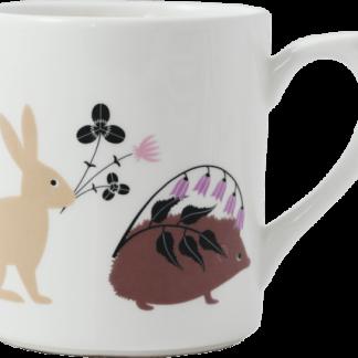 Gien Le Secret Mug - Animals
