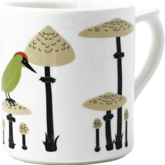 Gien Le Secret Mug - Woodpecker