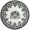 Gien Les Depareillees Blason Dessert Plate